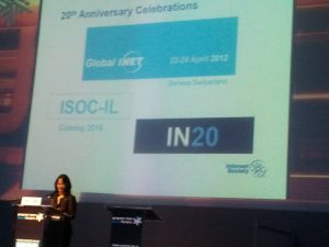 Lynn St Amour - ISOC CEO at in20 - 20 years of commercial internet #in20 #isocil