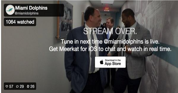 meerkat app marketing