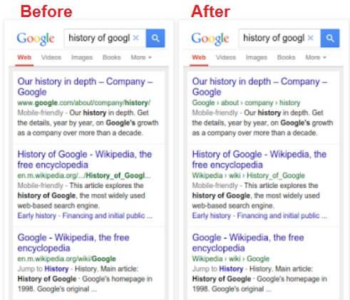 עדכון גוגל לתוצאות החיפוש במובייל
