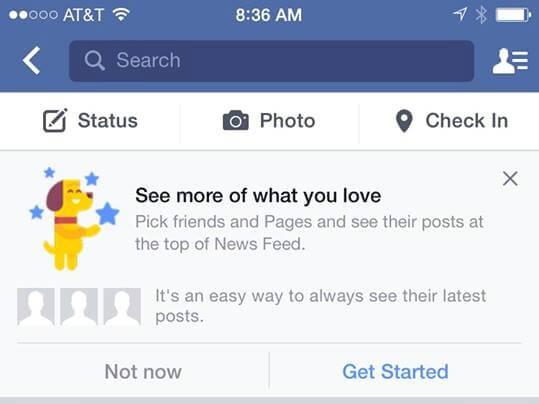 facebook test