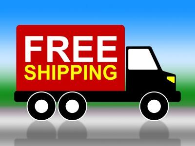 משלוחים בחינם בחנויות אינטרנט