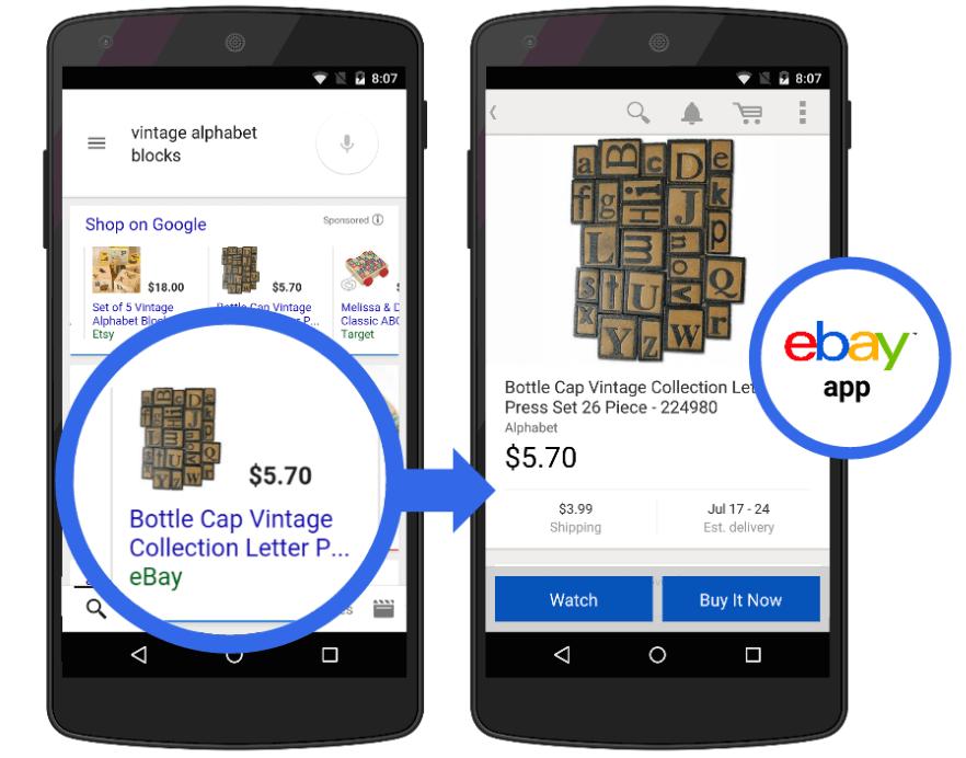 גוגל - כפתור קנייה