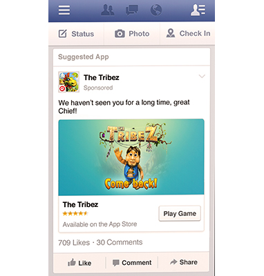 קידום אפליקציה בפייסבוק
