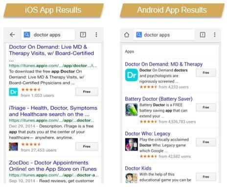 קידום אפליקציות - אפל מול גוגל