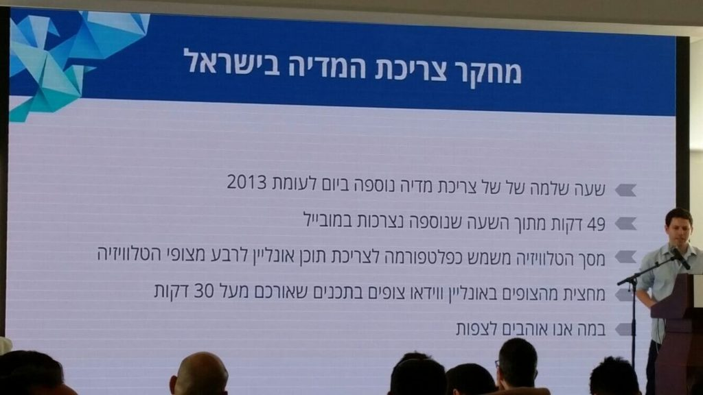 צריכת המדיה בישראל - סיכום