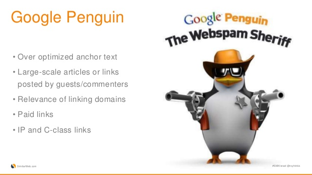דגשים בעדכון פינגווין - ממה להיזהר בשביל לא לקבל עונש של גוגל