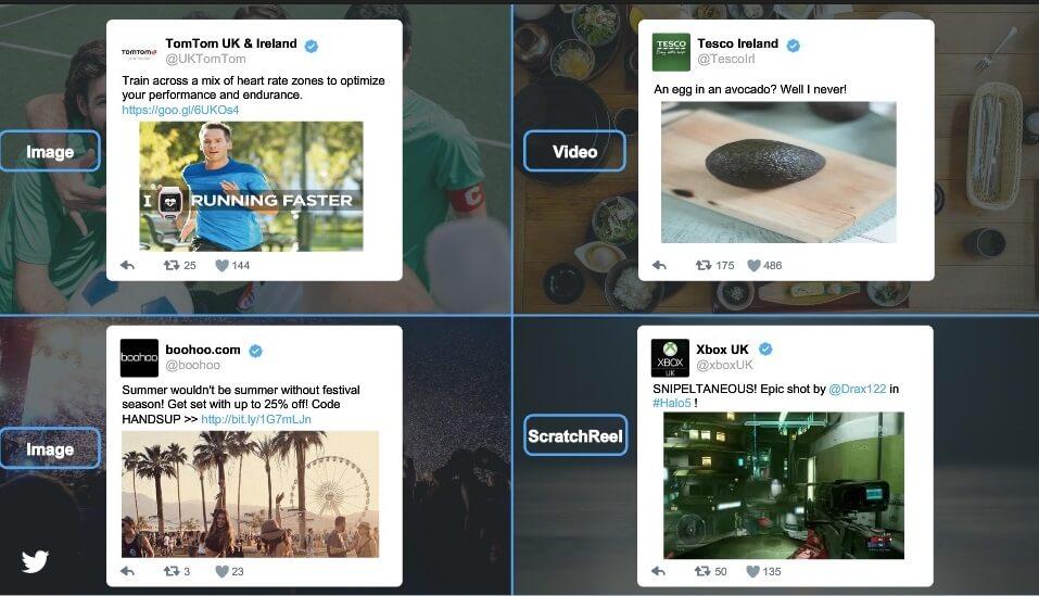 קידום בטוויטר לפי תחומי עניין
