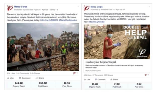 קידום עמותות בפייסבוק