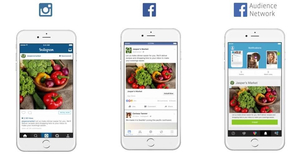 פרסום באינסטגרם ופייסבוק - placement optimization