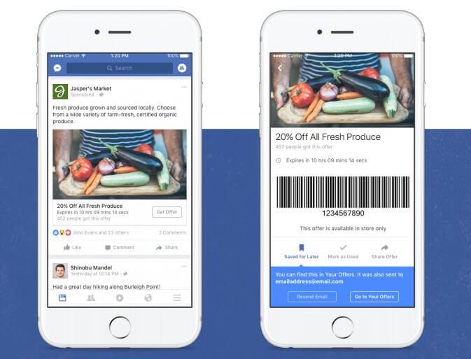 מודעות הצעות בפייסבוק ספטמבר 2016