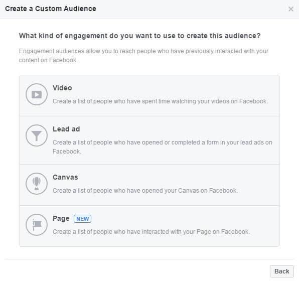 רימרקטינג בפייסבוק - יצירת קהלים מותאמים אישית