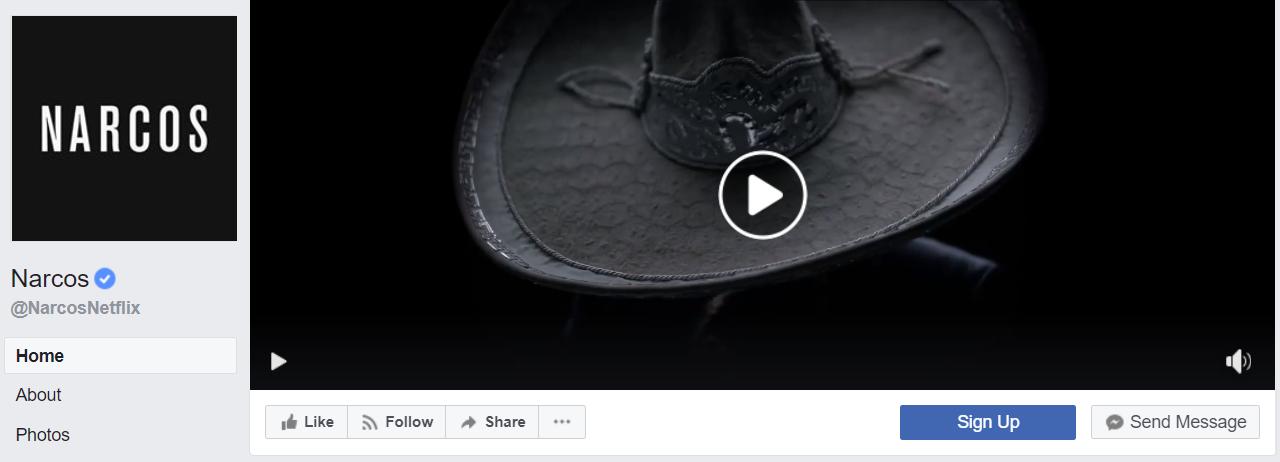 נרקוס - הראשונים להשתמש בוידאו קאבר של פייסבוק