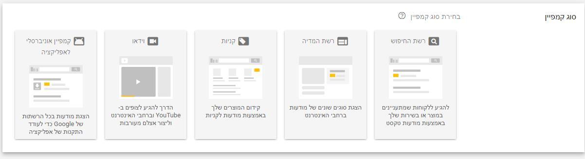 New AdWords UI