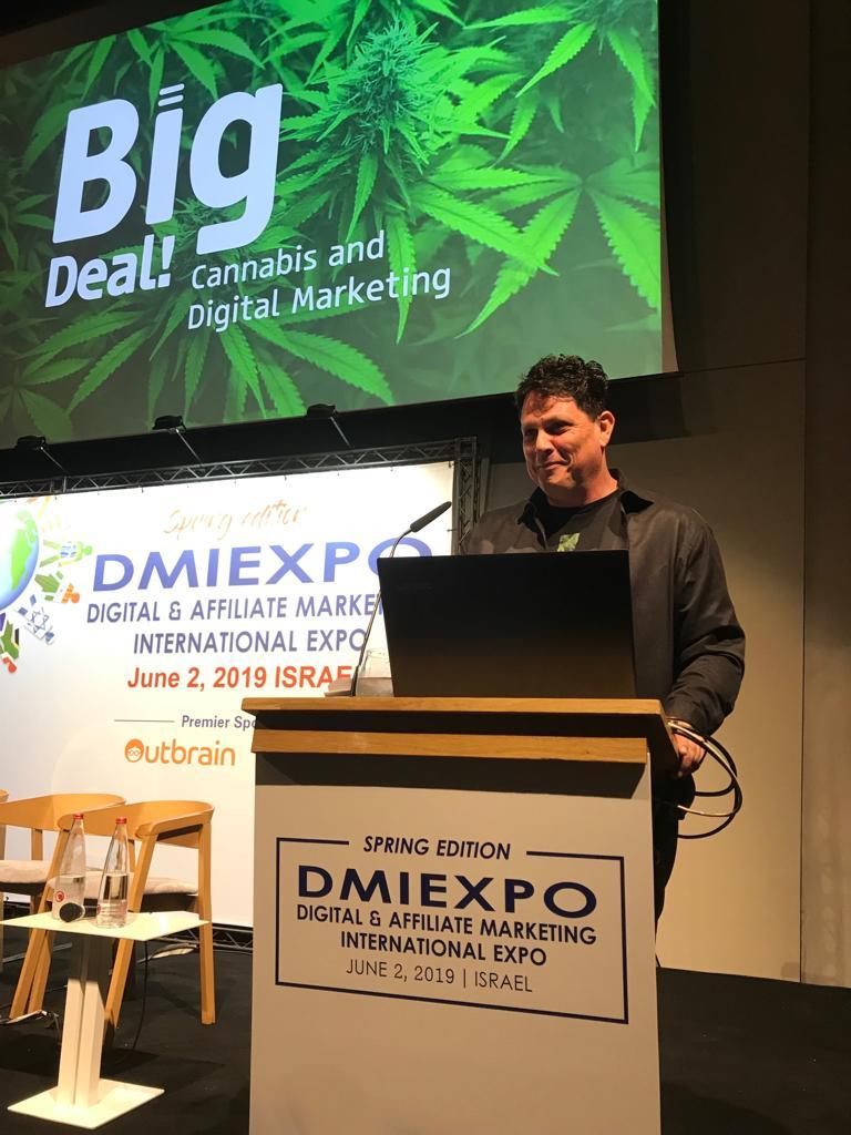 קנביס ושיווק דיגיטלי בכנס dmiexpo