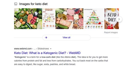 keto diet - webmd